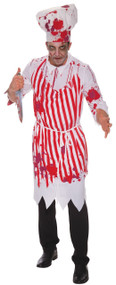 Mens Bloody Butcher Fancy Dress Costume