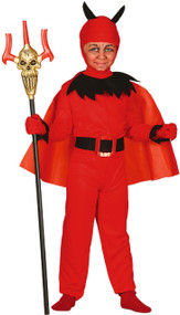 Boys Devil Imp Fancy Dress Costume