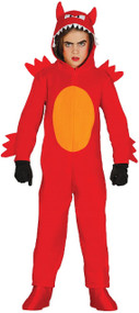 Child's  Monster Devil Fancy Dress Costume