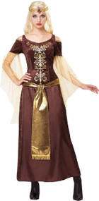 Ladies Dragon Queen Fancy Dress Costume