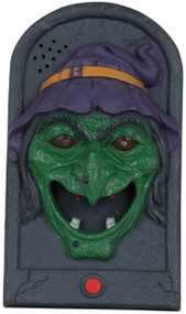 Witch Doorbell Halloween Decoration Prop