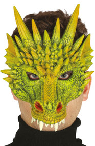 Mens Dragon Fancy Dress Mask