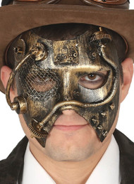 Men's Steampunk Fancy Dress Mask