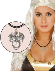Adults Dragon House Crest Fancy Dress Necklace