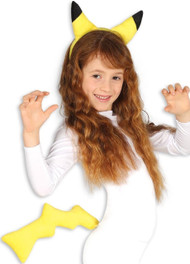 Child's  Yellow Chinchilla Fancy Dress Kit