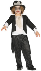Boys Ghost Groom Fancy Dress Costume