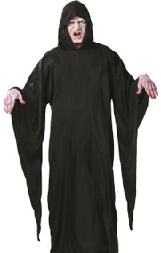 Mens Grim Reaper Cloak Fancy Dress Costume