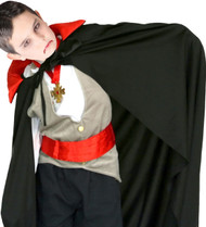 Child's Vampire Fancy Dress Cape