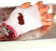 Bandaged Severed Hand Fancy Dress Accessory