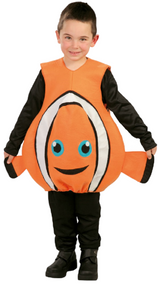 Child's  Clownfish Fancy Dress Costume