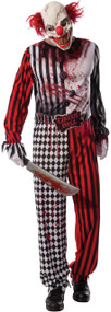 Men's Killer Clown Fancy Dress Costume