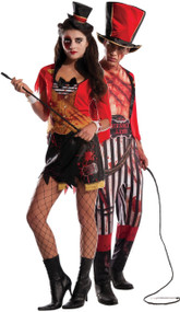 Couples Bloody Circus Directors Fancy Dress Costume