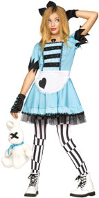 Girls Wild Alice Fancy Dress Costume