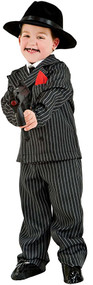 Boys Deluxe Gangster Fancy Dress Costume