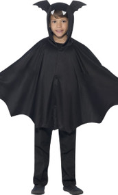 Child's Bat Cape Fancy Dress Costume