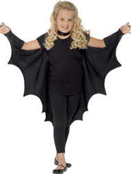 Child's  Vampire Bat Fancy Dress Wings