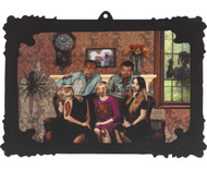 Halloween 3D Changing Family Portrait Party Decoration