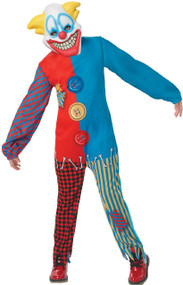 Child's  Scary Clown Fancy Dress Costume