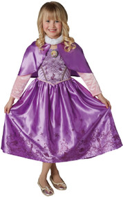 Girls Winter Rapunzel Fancy Dress Costume