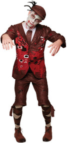 Mens Zombie Lord Fancy Dress Costume