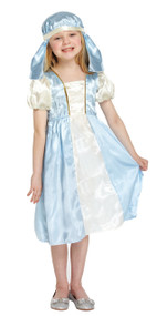 Girls Virgin Mary Fancy Dress Costume 1