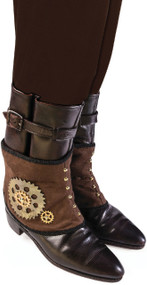 Men's Steampunk Fancy Dress Spats