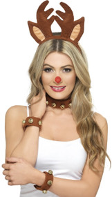 Ladies Pin Up Reindeer Fancy Dress Kit