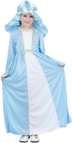 Girls Mary Fancy Dress Costume 1