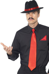 Mens Instant Gangster Fancy Dress Kit