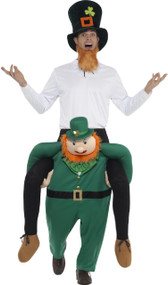 Adults Ride On Leprechaun Fancy Dress Costume
