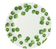 Christmas Sprout Party Plates - 23 Cm