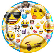 Emoji Party Plates - 18 Cm