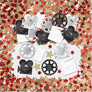 Hollywood Party Confetti