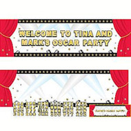 Hollywood Party Giant Create Your Own Banner