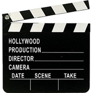 Hollywood Party Directors Clapper Board Prop