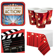 Hollywood Party Tableware Kit