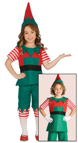 Child's  Workshop Elf Fancy Dress Costume