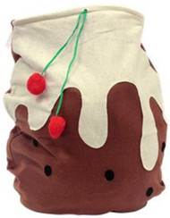 Christmas Pudding Present Sack