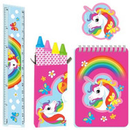 20 Rainbow Unicorn Party Bag Fillers