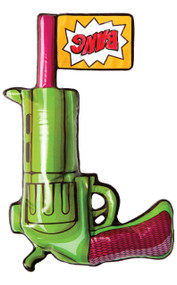 Inflatable Joker Gun Fancy Dress Prop