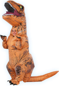 Child's  Inflatable T-Rex Fancy Dress Costume