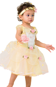 Baby Official Belle Fancy Dress Costume