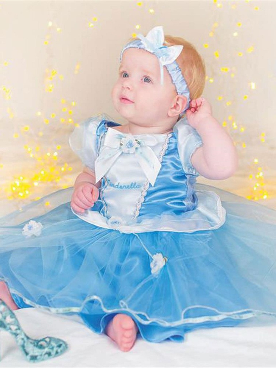 0a1c49ee169a Baby Official Cinderella Fancy Dress Costume. Previous. Image 1
