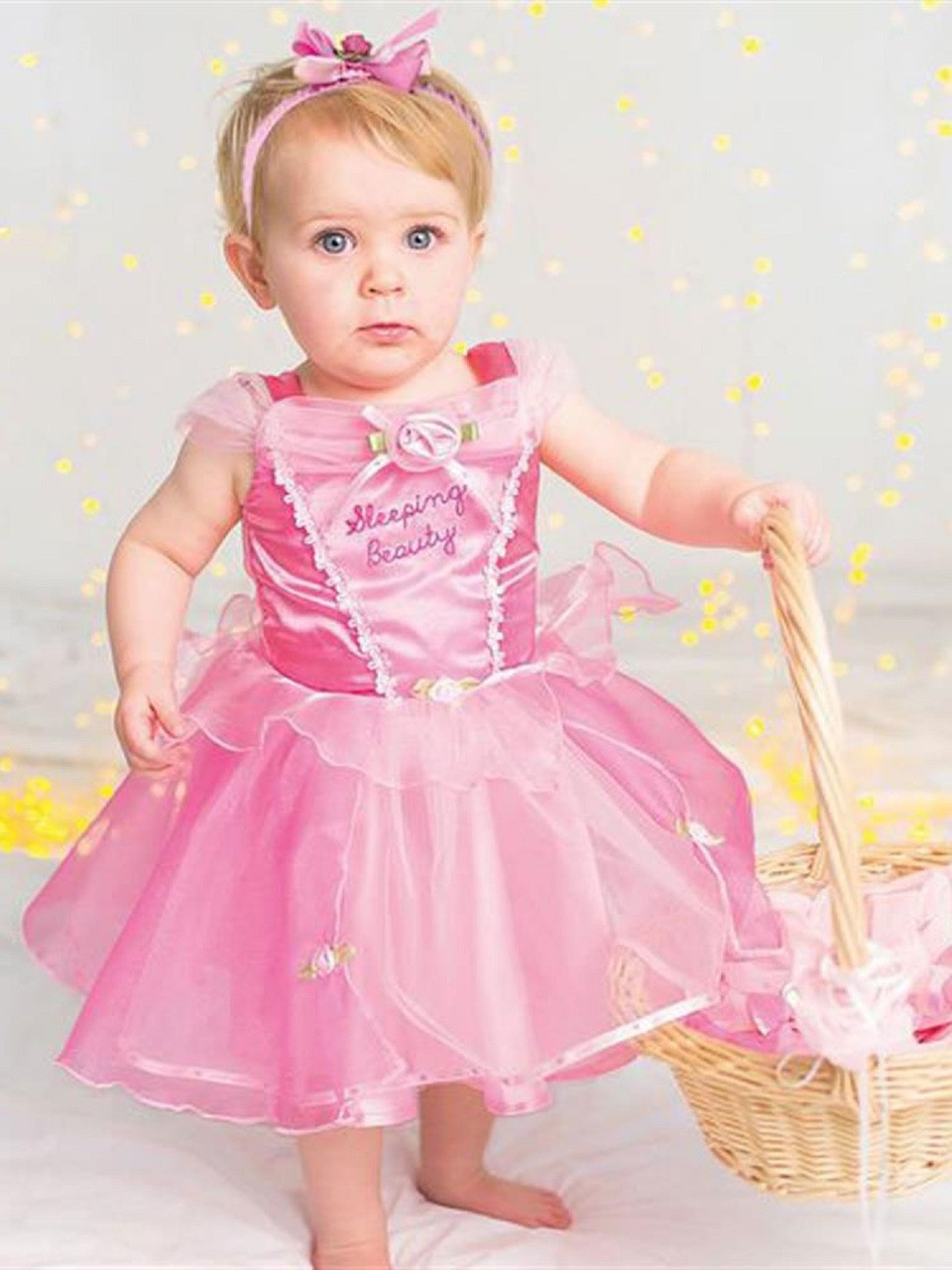c0e58c3e4 Baby Official Sleeping Beauty Fancy Dress Costume. Previous. Image 1
