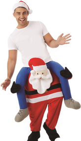 Adult Santa Lift Me Up Fancy Dress Costume