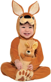Baby Jumpin' Joey Kangaroo Fancy Dress Costume