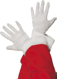 Adult Short White Fancy Dress Gloves