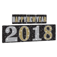 Metallic New Year 2018 Party Decoration Kit