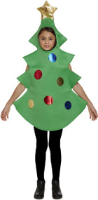 Child's  Christmas Tree Fancy Dress Costume