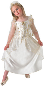 Girls Angel Gabriel Fancy Dress Costume